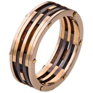 Men's Wedding Band Yellow Gold