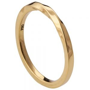 Mobius Wedding Band Yellow Gold