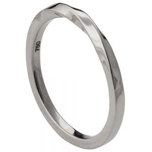 Mobius Wedding Band White Gold 1 Catalogue