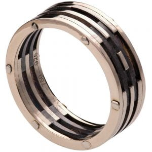 Men's Wedding Band White Gold
