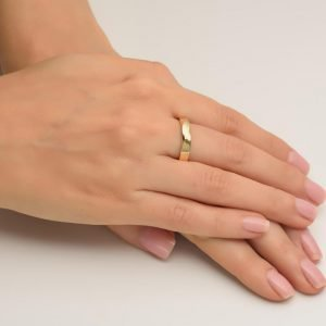 Mobius Wedding Band Yellow Gold 3 Catalogue