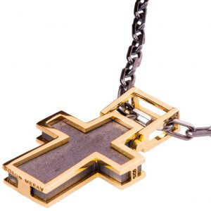Men's Cross Pendant Rose Gold Catalogue