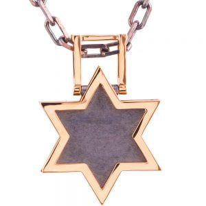 Men's Pendant Rose Gold Star of David Catalogue