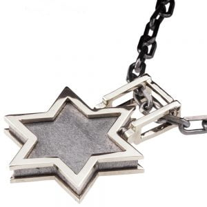 Men's Pendant White Gold Star of David Catalogue