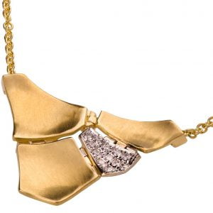 Parched Earth Pendant Yellow Gold and Diamonds Catalogue