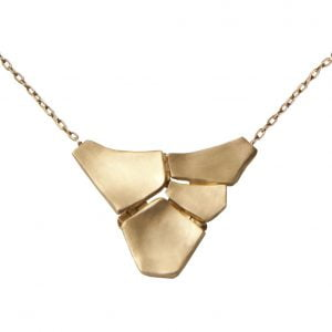 Parched Earth Pendant Yellow Gold