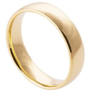 Comfort Fit Wedding Band Yellow Gold Catalogue