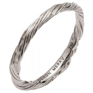 Twig Wedding Band White Gold 1 Catalogue