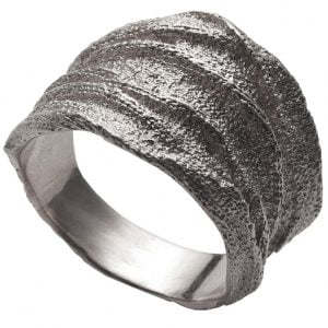 Golden Rag Wedding Band White Gold 3 Catalogue