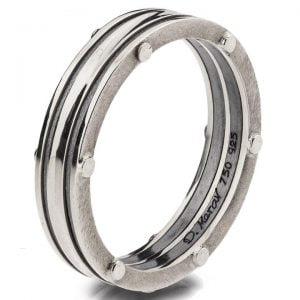 Men's Wedding Band Platinum